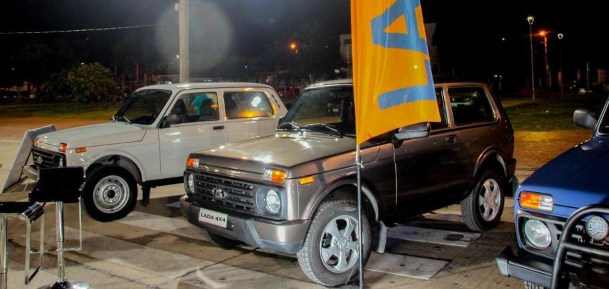 У Південній Америці креативно прорекламували Lada Niva