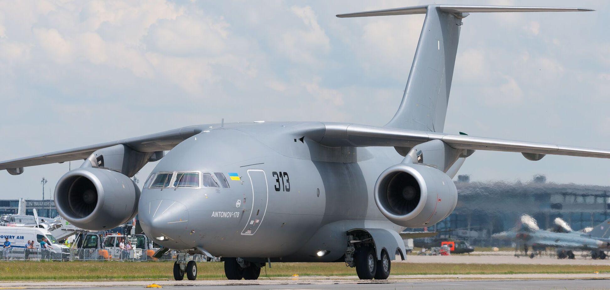 'Антонов' начал производство первого самолета без российских деталей