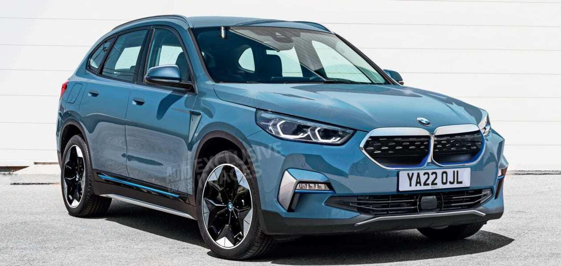 Новый BMW X1 поедет на электричестве и станет похожим на X5
