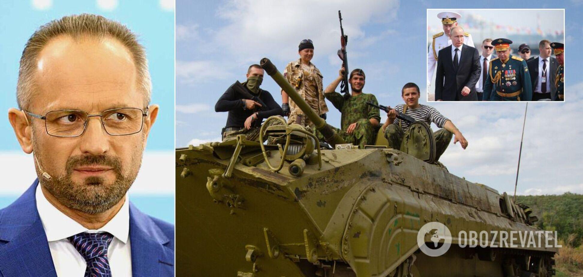 У Росії є причина зображувати перемир'я на Донбасі, – Безсмертний