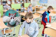 Школьников и учителей в Украине хотят страховать от COVID-19