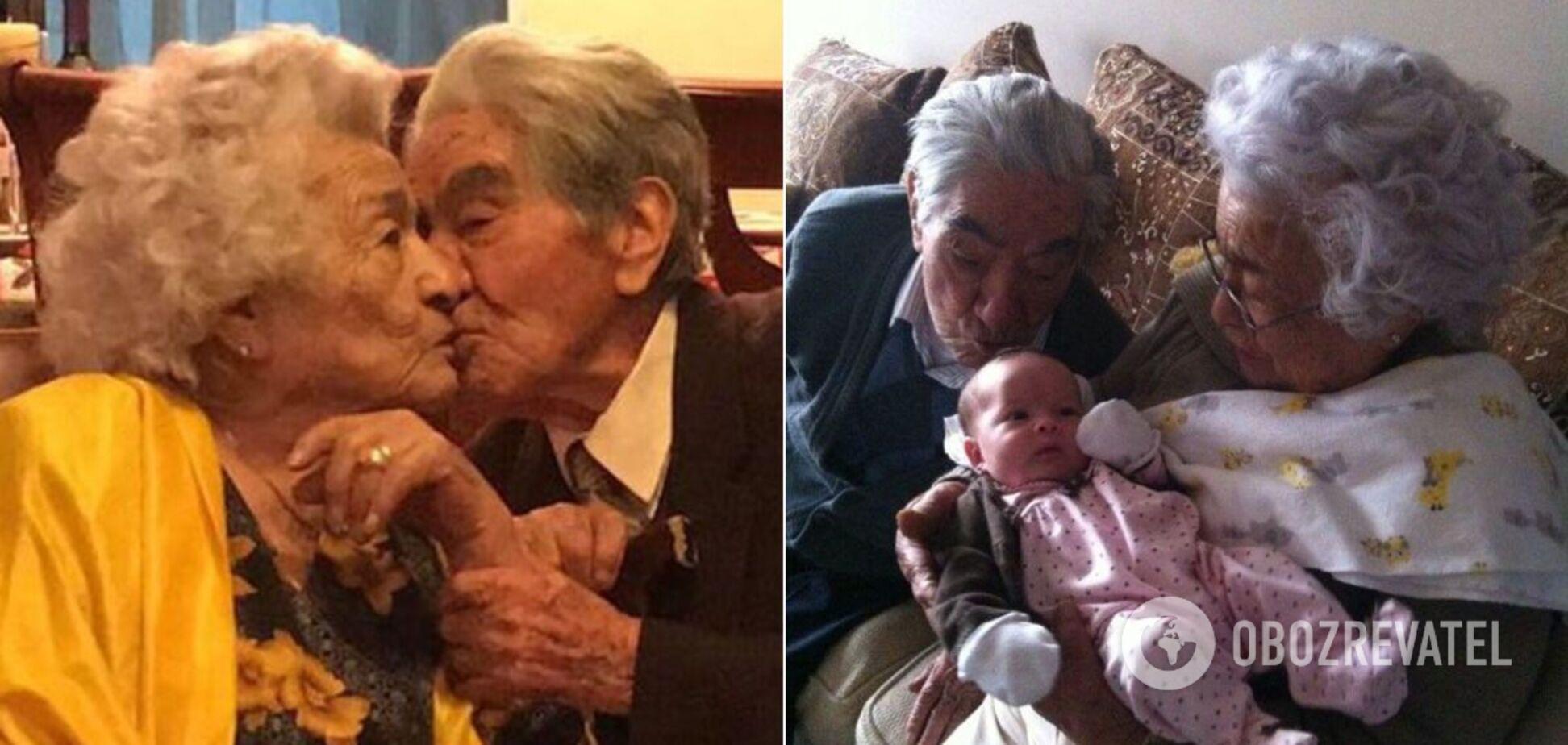 Найбільш літнє подружжя прожило 79 років разом