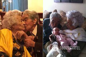 Самые пожилые супруги прожили 79 лет вместе