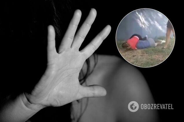 У Нікополі дівчата-підлітки жорстоко побили школярку. Відео 18+