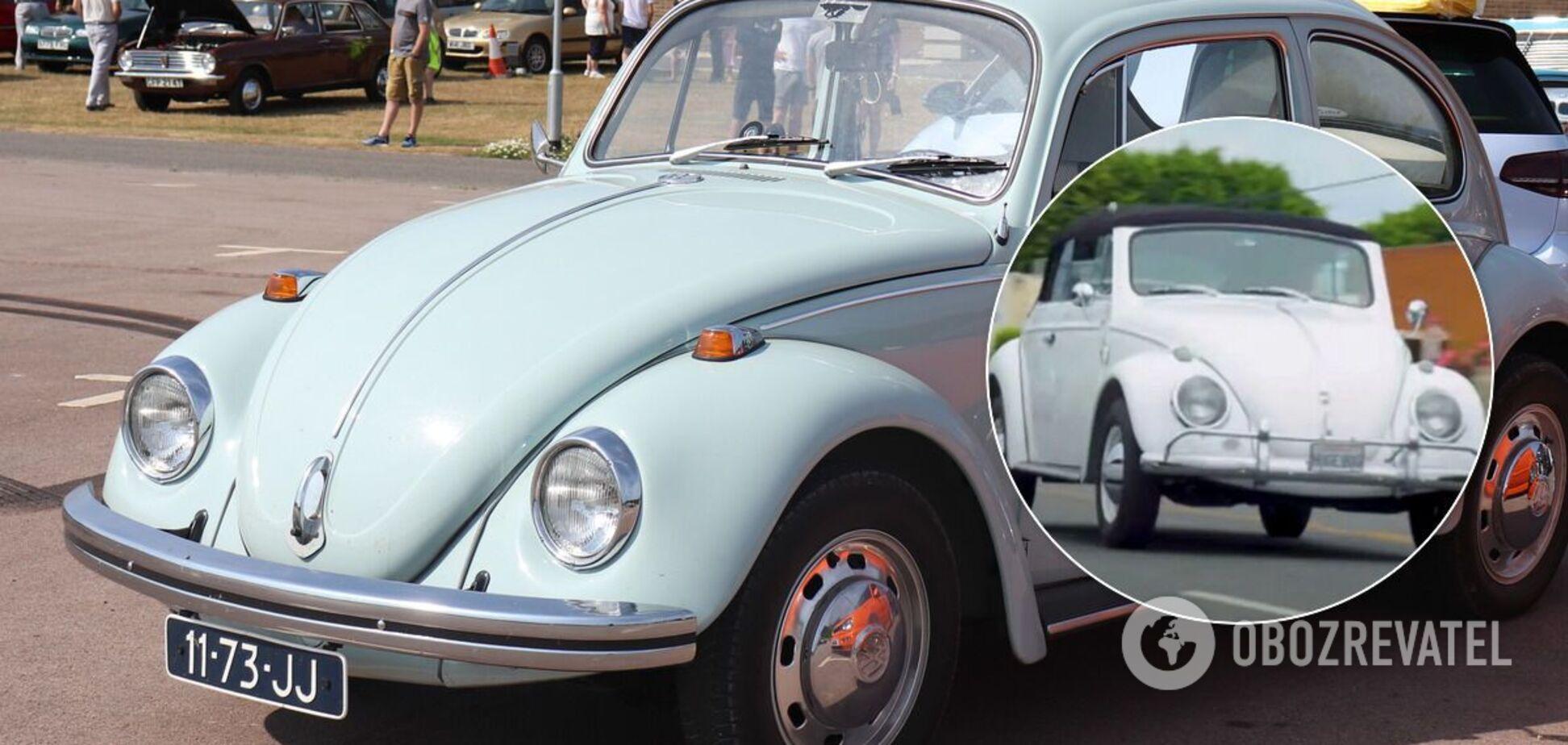Американець самостійно створив величезний VW Beetle