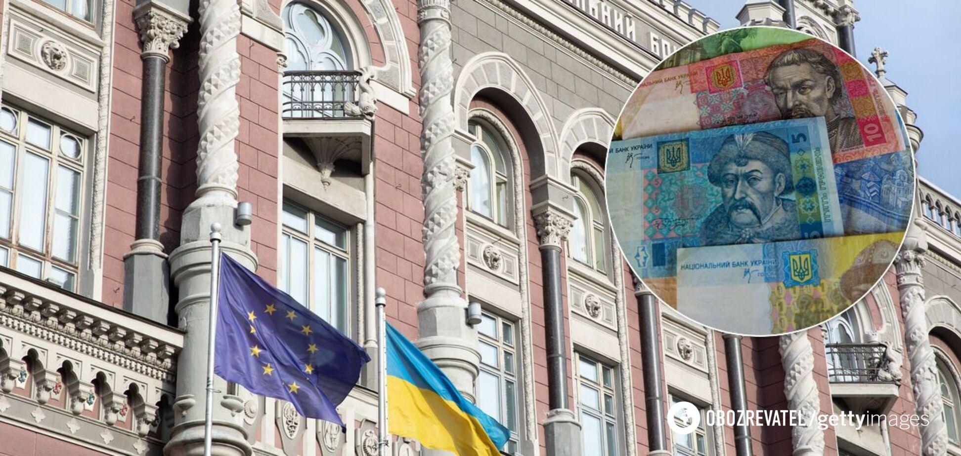 Друк гривні відбувається на банкнотній фабриці Національного банку України