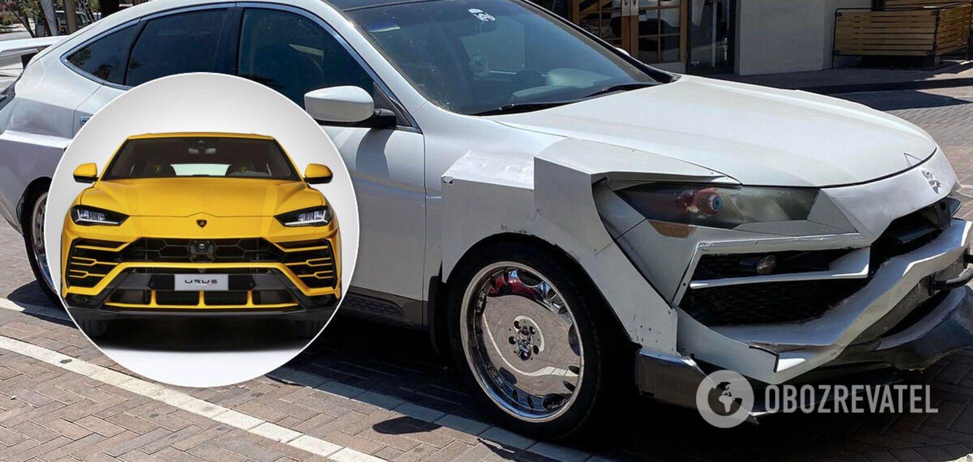 Кросовер Honda невдало перетворили на Lamborghini