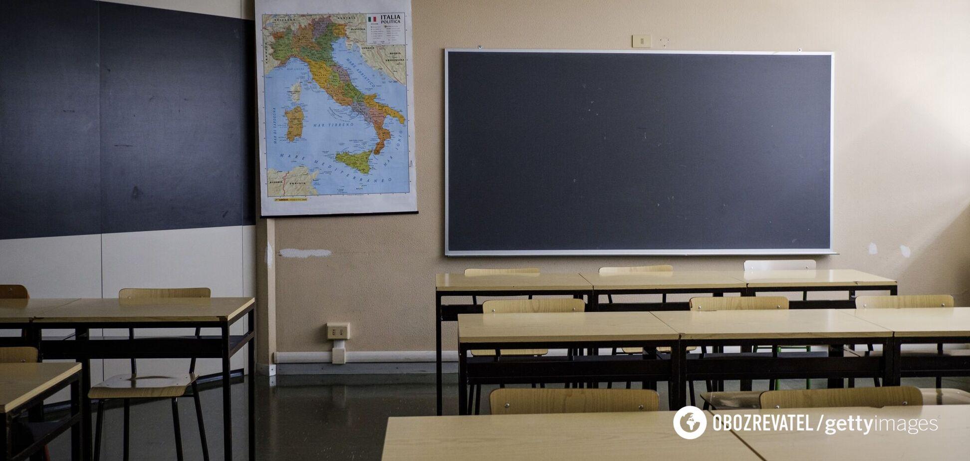 Часть украинских школ начнет учебный год дистанционно