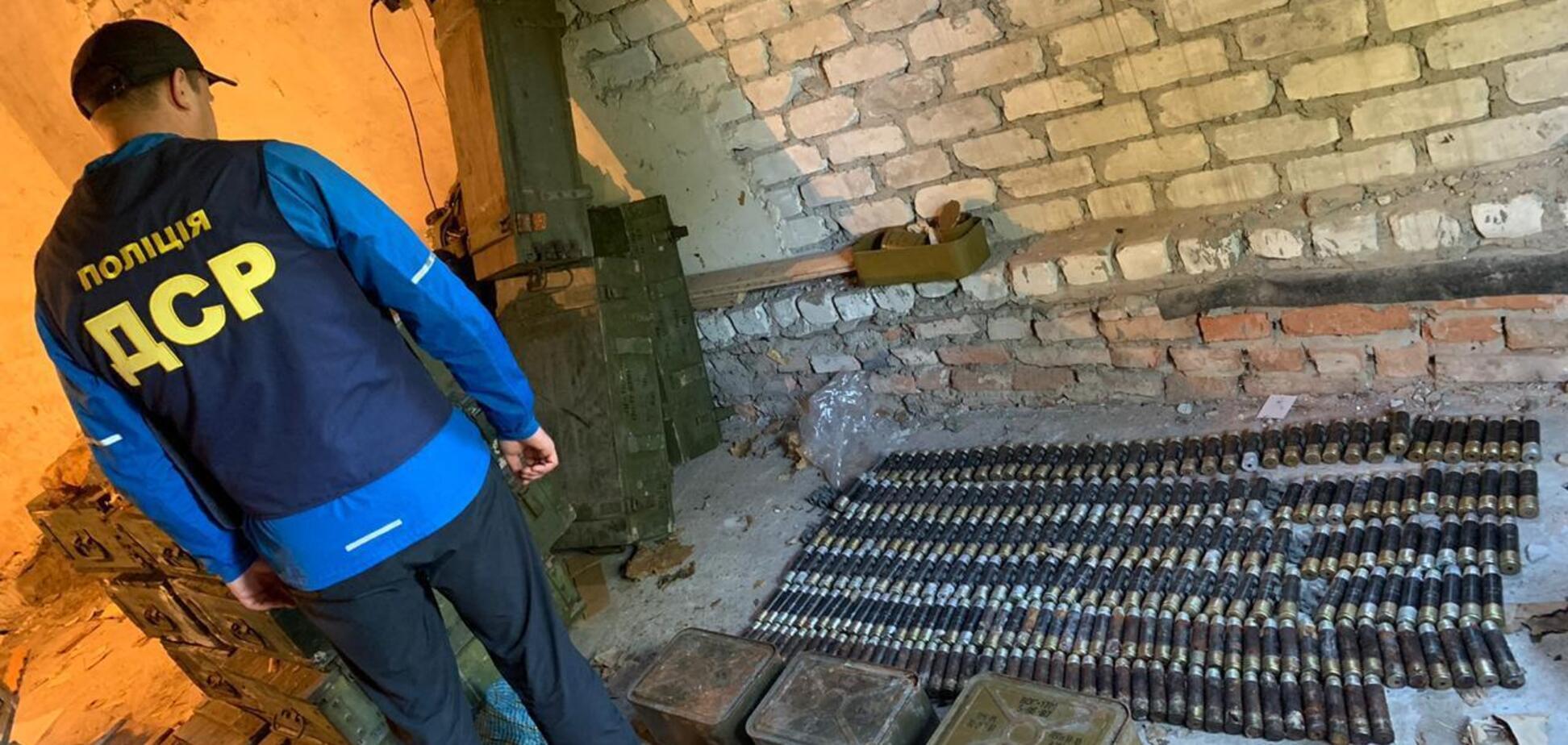 На Харьковщине нашли схрон боеприпасов