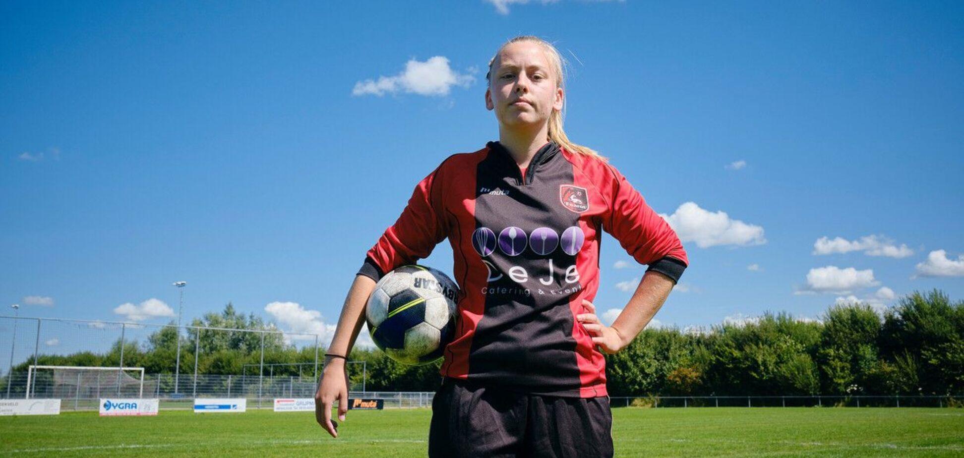 Эллен Фоккема будет выступать с партнерами-мужчинами. Источник: KNVB