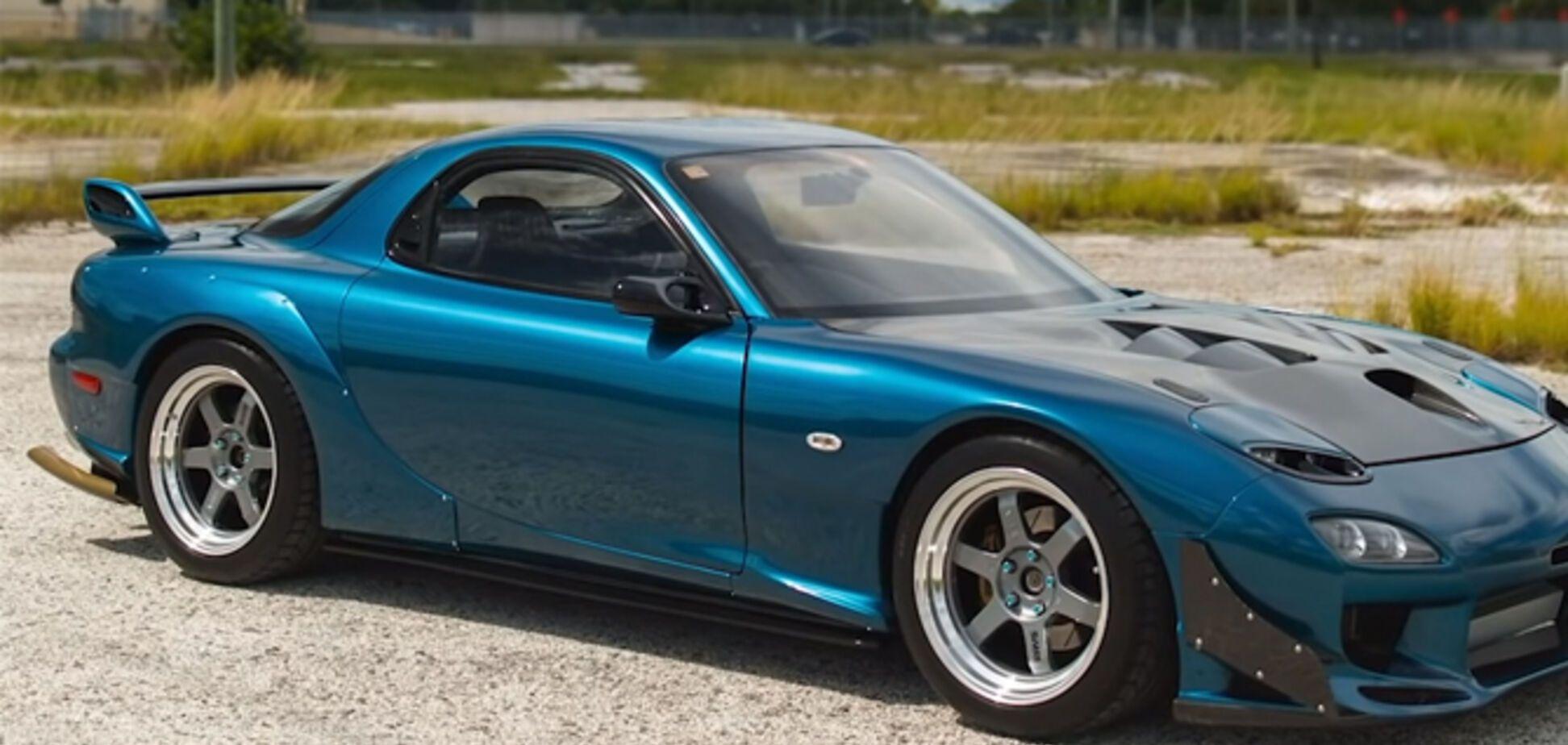 Придбану за $1500 Mazda перетворили на автомобіль мрії
