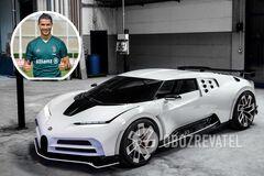 Кріштіану Роналду поповнив свою колекцію Bugatti