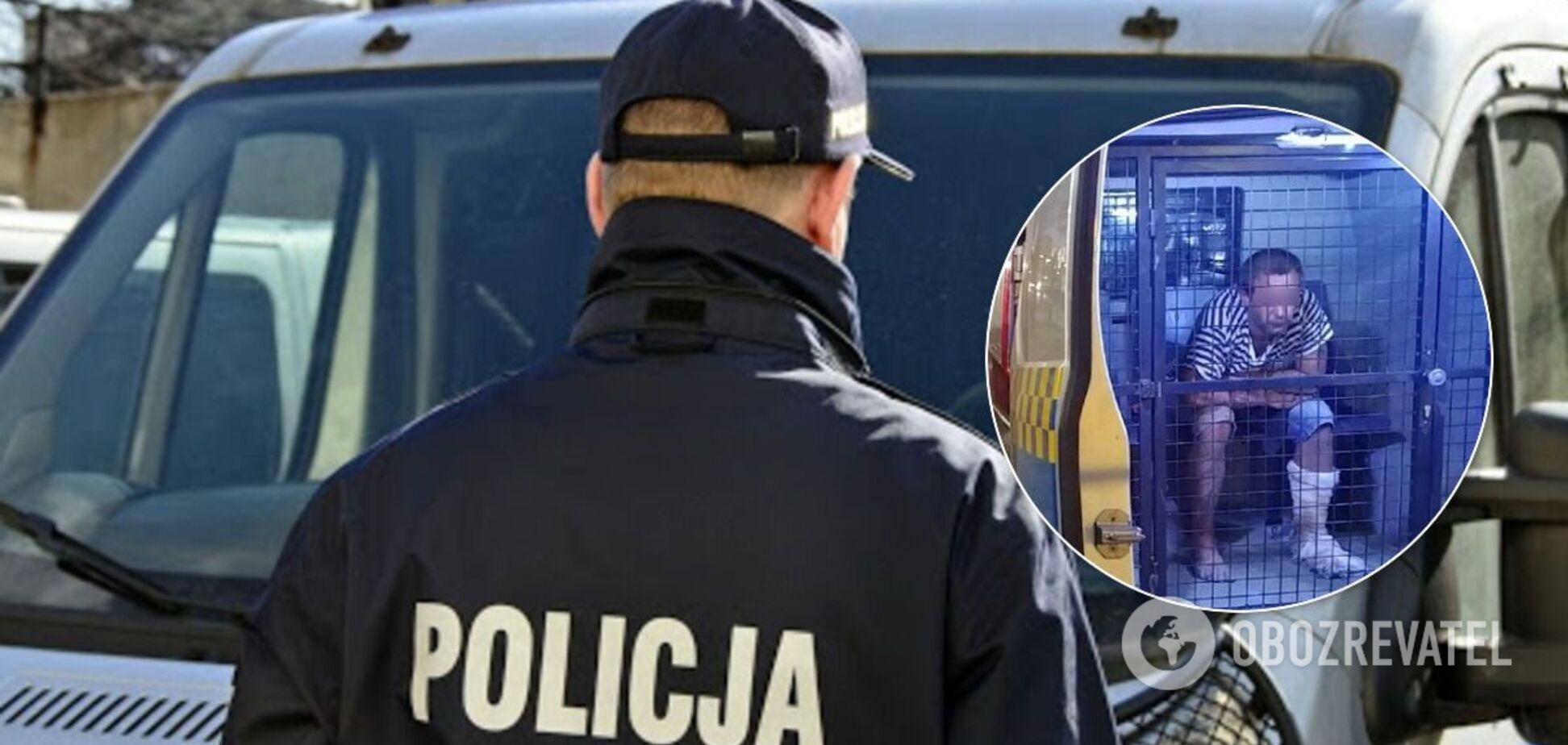 В Польше задержали украинца