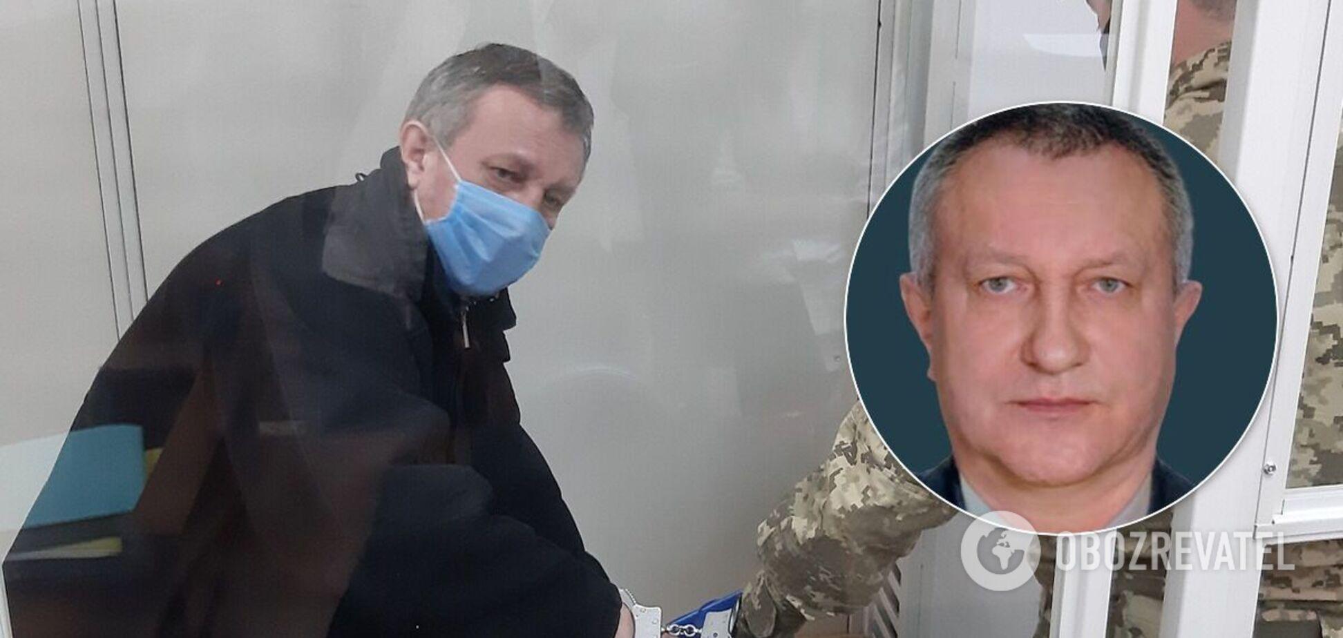 Суд оставил под стражей подозреваемого в госизмене генерала СБУ Шайтанова