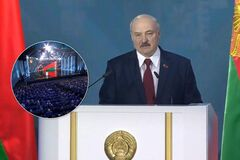 У мережі звернули увагу на вигляд Лукашенка під час виступу: був блідий, пітнів і терміново втік