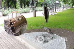 В Донецке украли скульптуру 'Фашизм не пройдет'