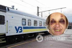 Жертва нападу в поїзді УЗ розповіла про складну операцію: біль такий, немов зуби вирвали