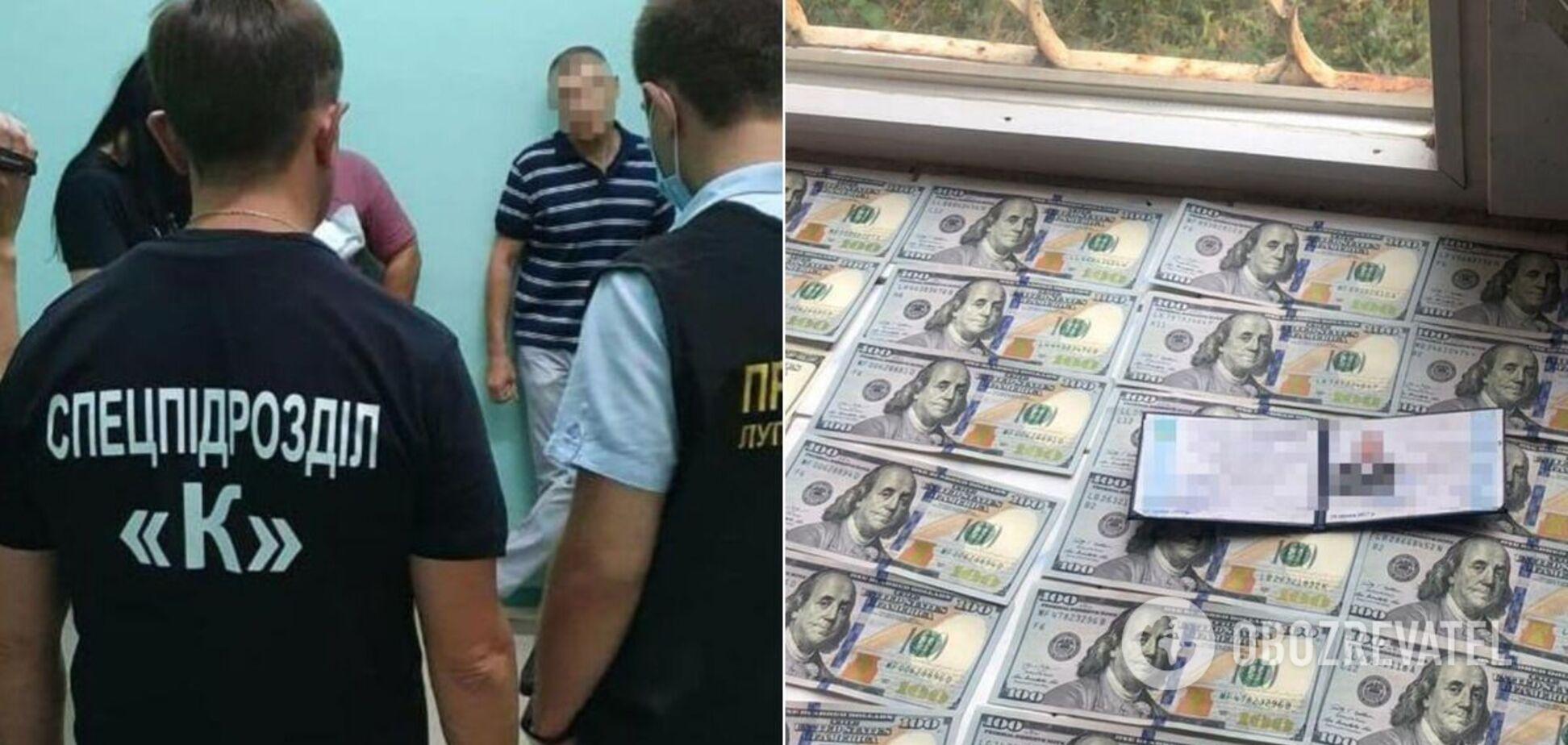 На Луганщині чиновник вимагав у ветерана АТО хабар за інвалідність