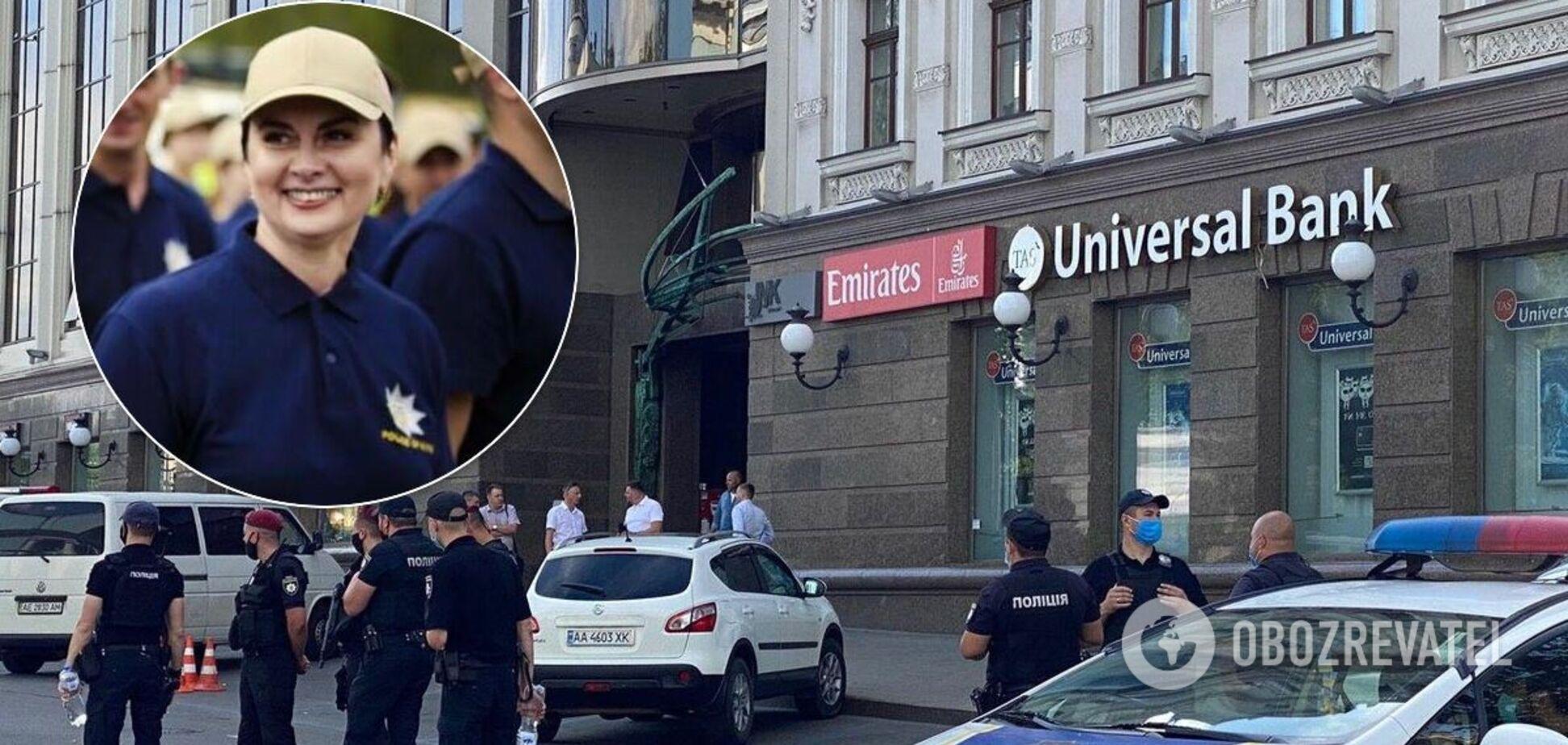 Виктория Азарова приняла участие в спецоперации по освобождению заложницы в отделении банка в БЦ ''Леонардо''