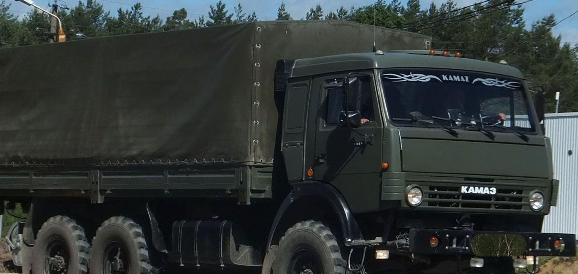 Росія пригнала на Донбас військову техніку