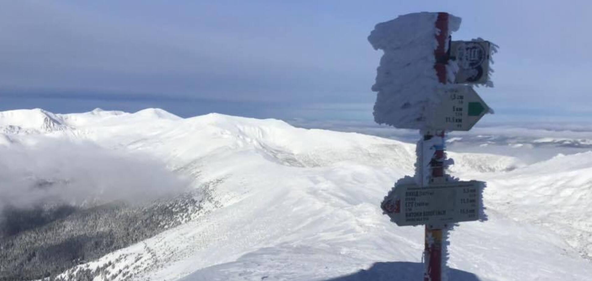За последний снеголавинный сезон в Карпатах не сошло ни одной лавины