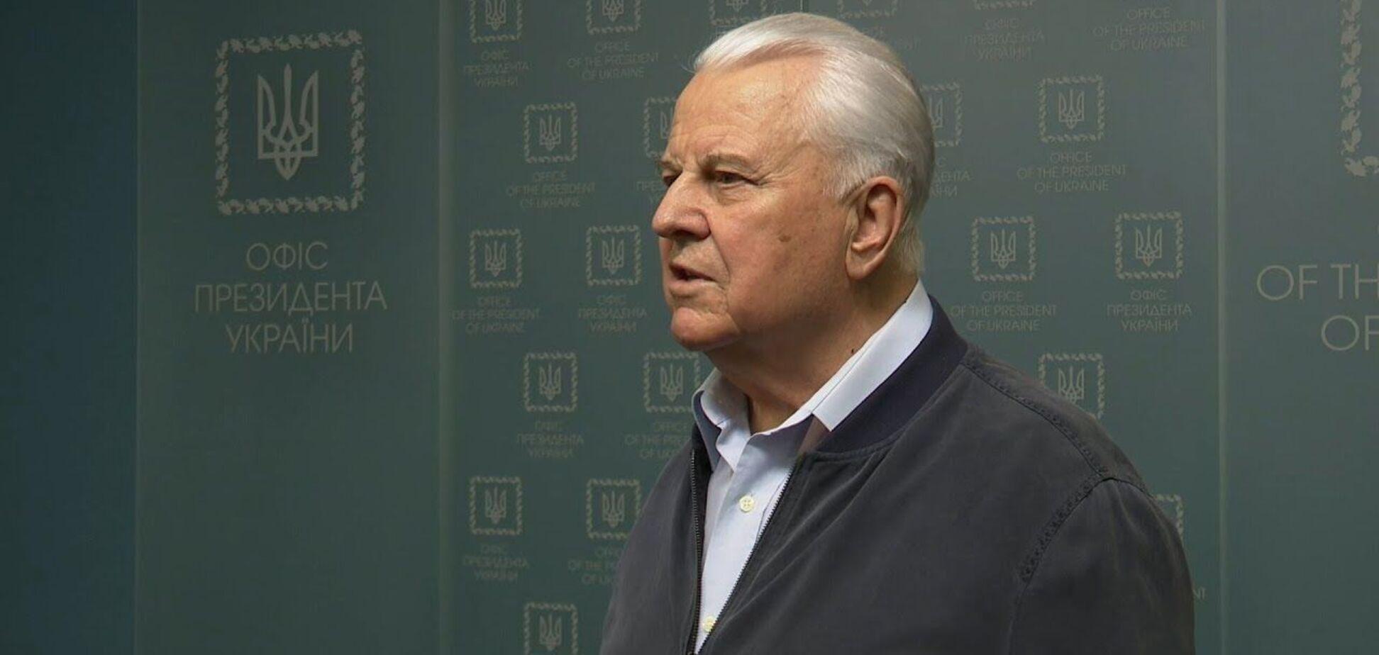 Кравчук провел первую встречу с делегацией ТКГ