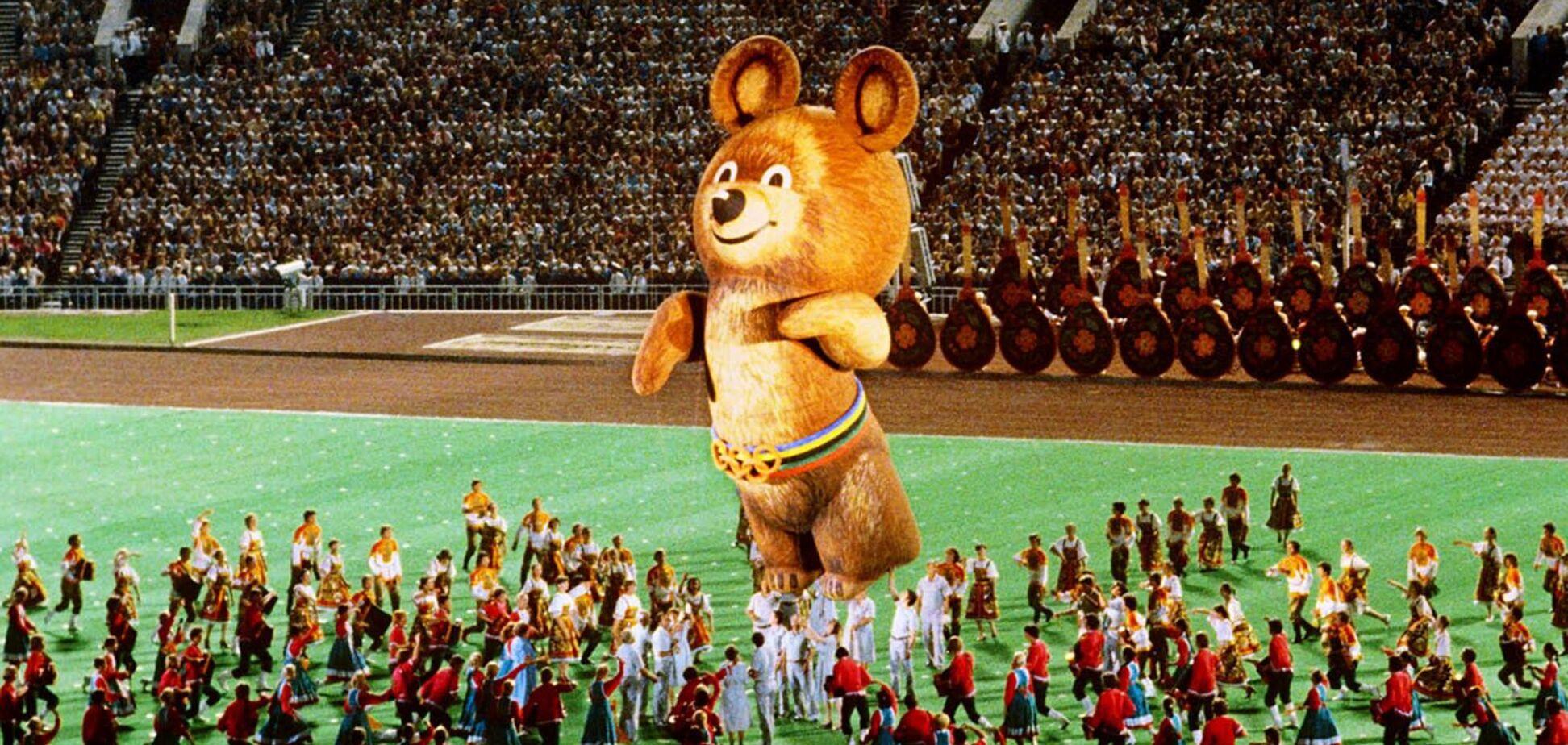 Трогательная история медведя Мишки, символа Олимпиады 1980 года