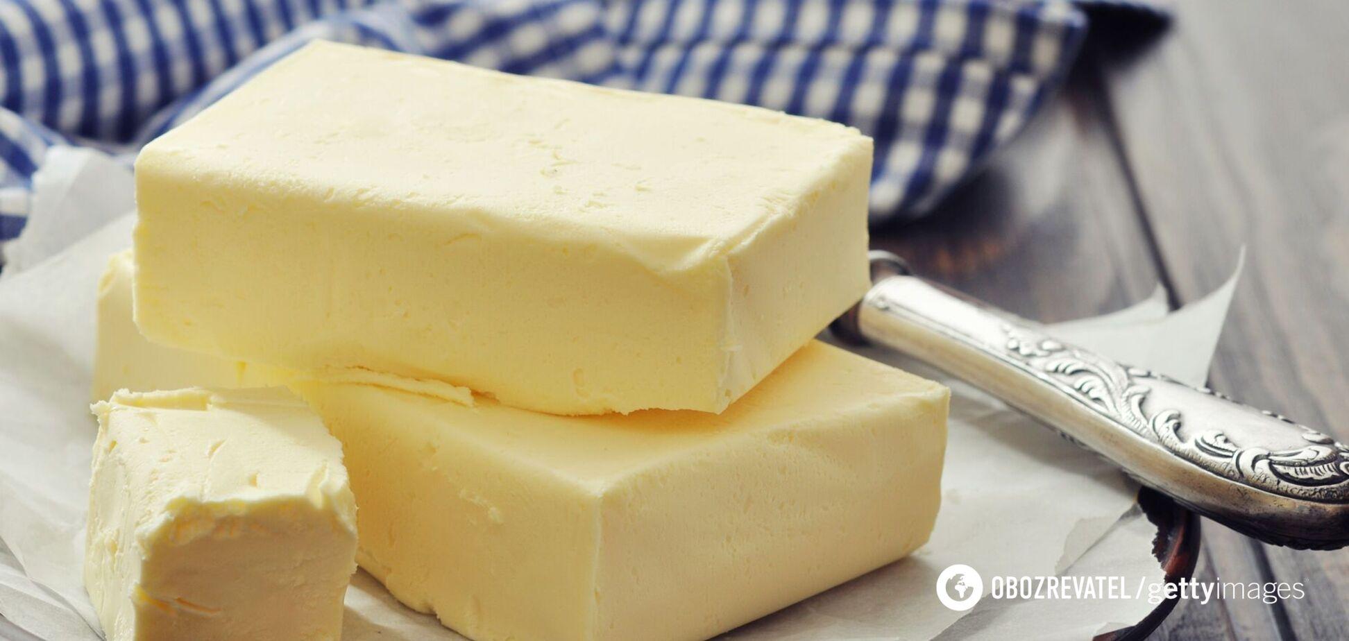 Вершкове масло допомагає зменшити загальну кількість жиру в організмі