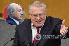 Жириновський застеріг Лукашенка від долі Януковича