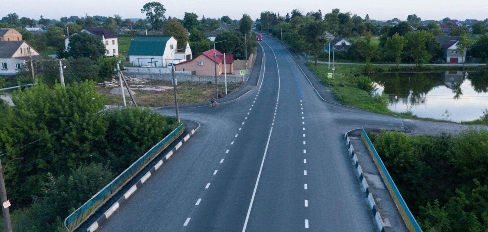 'Велике будівництво': появились фото обновленных дорог Тернопольщины