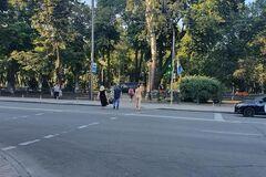 У Києві помітили голого чоловіка
