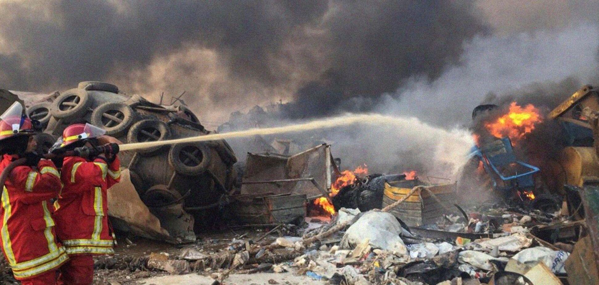 Появилось снятое погибшими жителями Бейрута видео взрыва