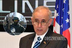 Кит Дейтон назвал численность войск РФ на Донбассе
