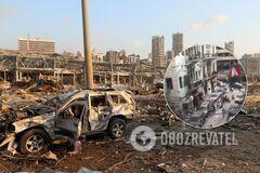 Разрушены дома и дороги, на улицах – клубы дыма: появились свежие видео из эпицентра взрыва в Бейруте
