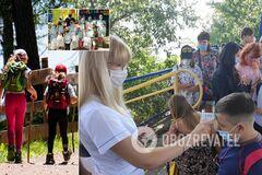 Детские летние лагеря в Украине