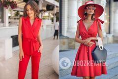 Как правильно носить красную одежду: советы от Андре Тана