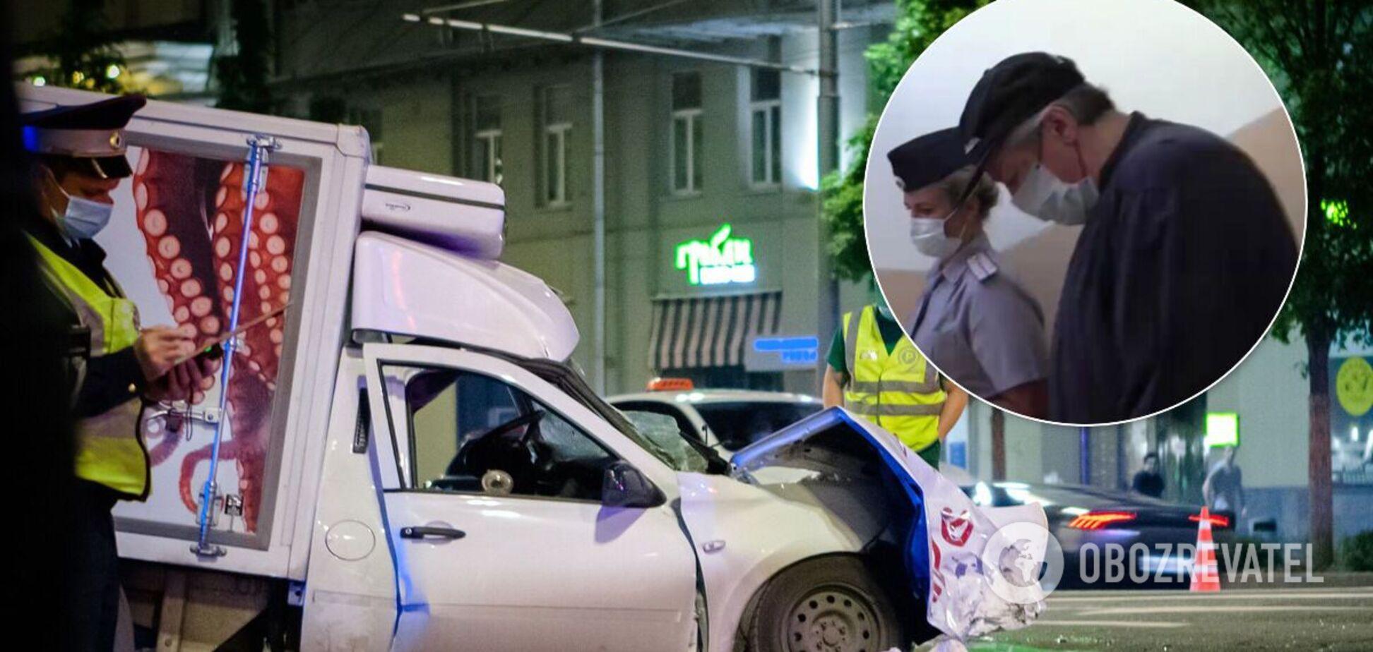 Ефремов устроил смертельную аварию 8 июня. Источник: Коллаж