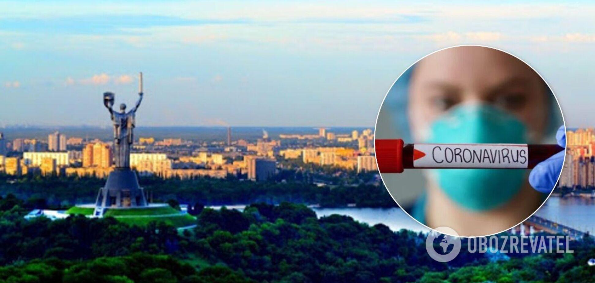 В Киеве новый антирекорд по случаям COVID-19 за сутки