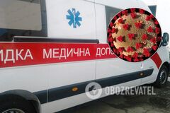 Появилось видео из переполненной больницы Одессы: скорые постоянно везут больных COVID-19