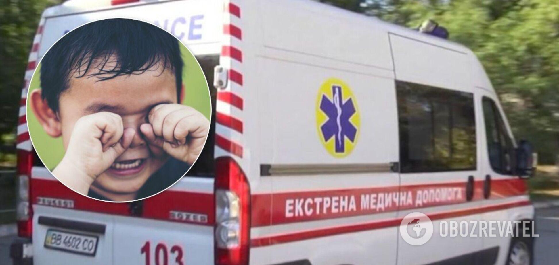 В Запорожье на карьере пострадали дети: срочно увезла скорая