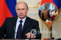 Украинский священник поздравил Путина