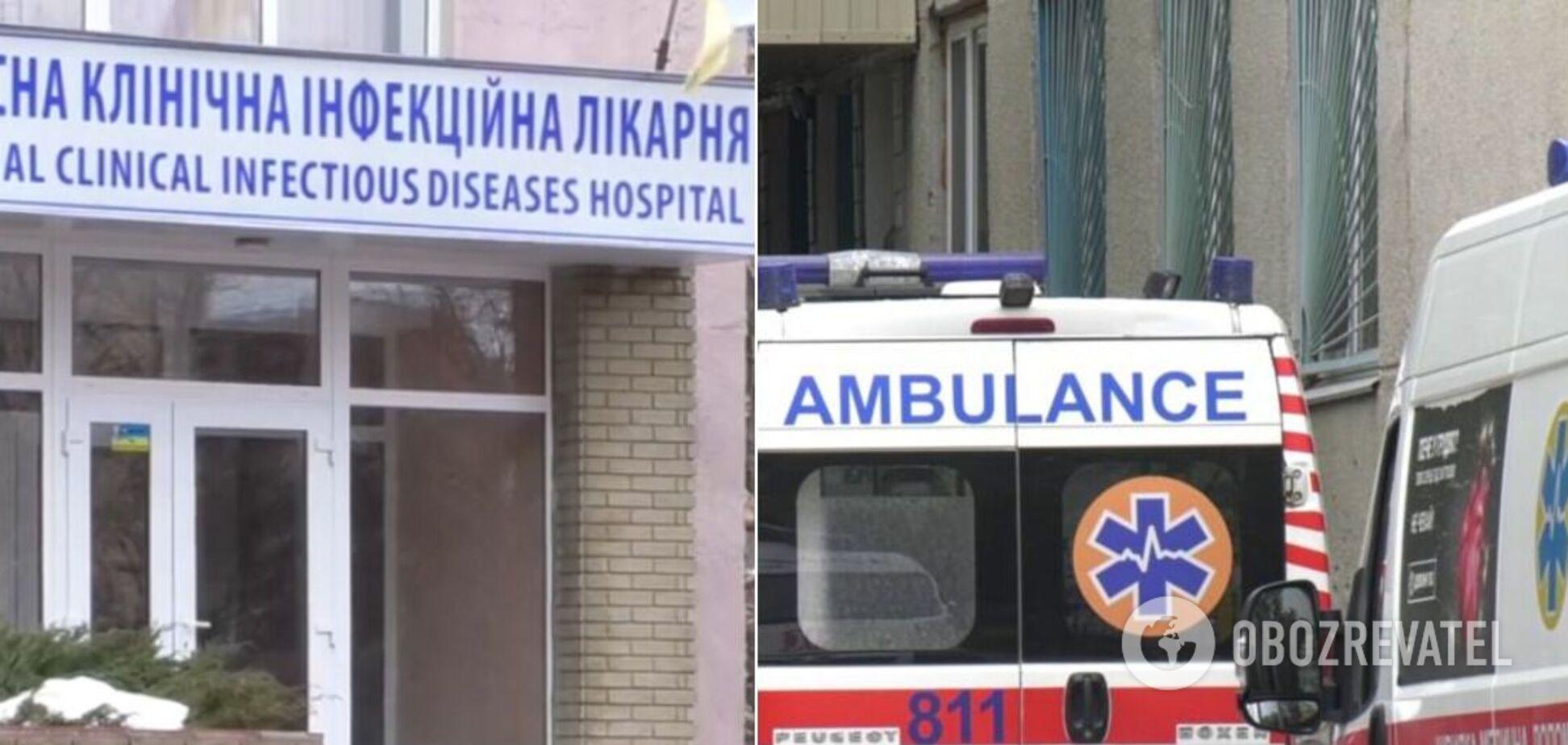 Харьковская областная инфекционная больница переполнена пациентами с COVID-19