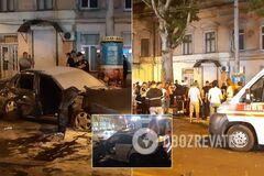 У центрі Одеси сталася масштабна аварія