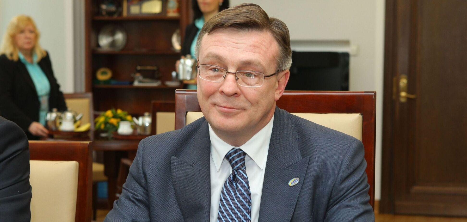 Кожара после внесения залога выступил на одном из телеканалов. Фото senat.gov.pl