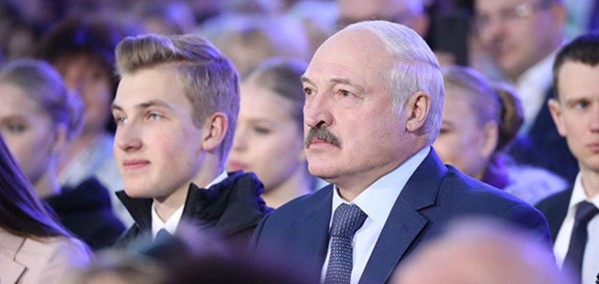Лукашенко розповів, чи бачить він свого сина наступником у владі
