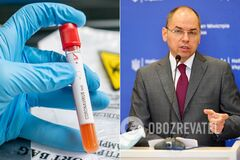 Степанов озвучив статистику щодо коронавірусу в Україні