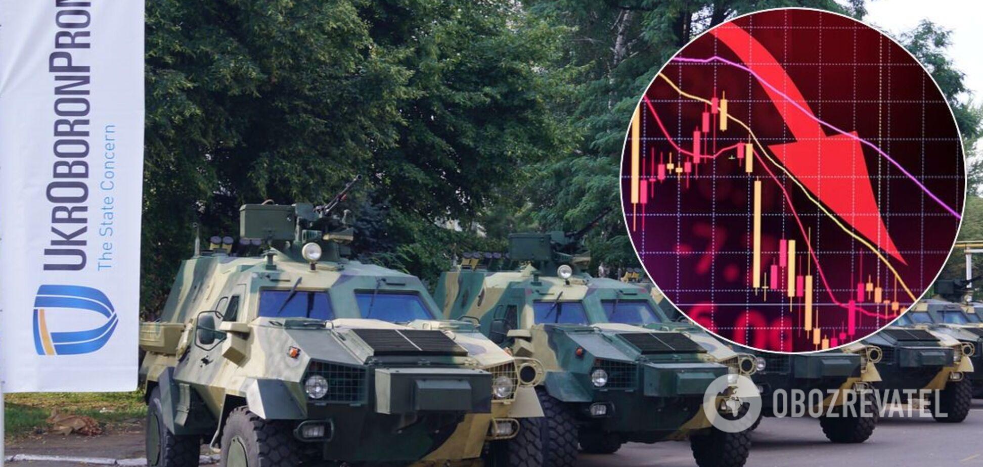 'Укроборонпром' понес убытки в сотни миллионов гривен, – Бутусов