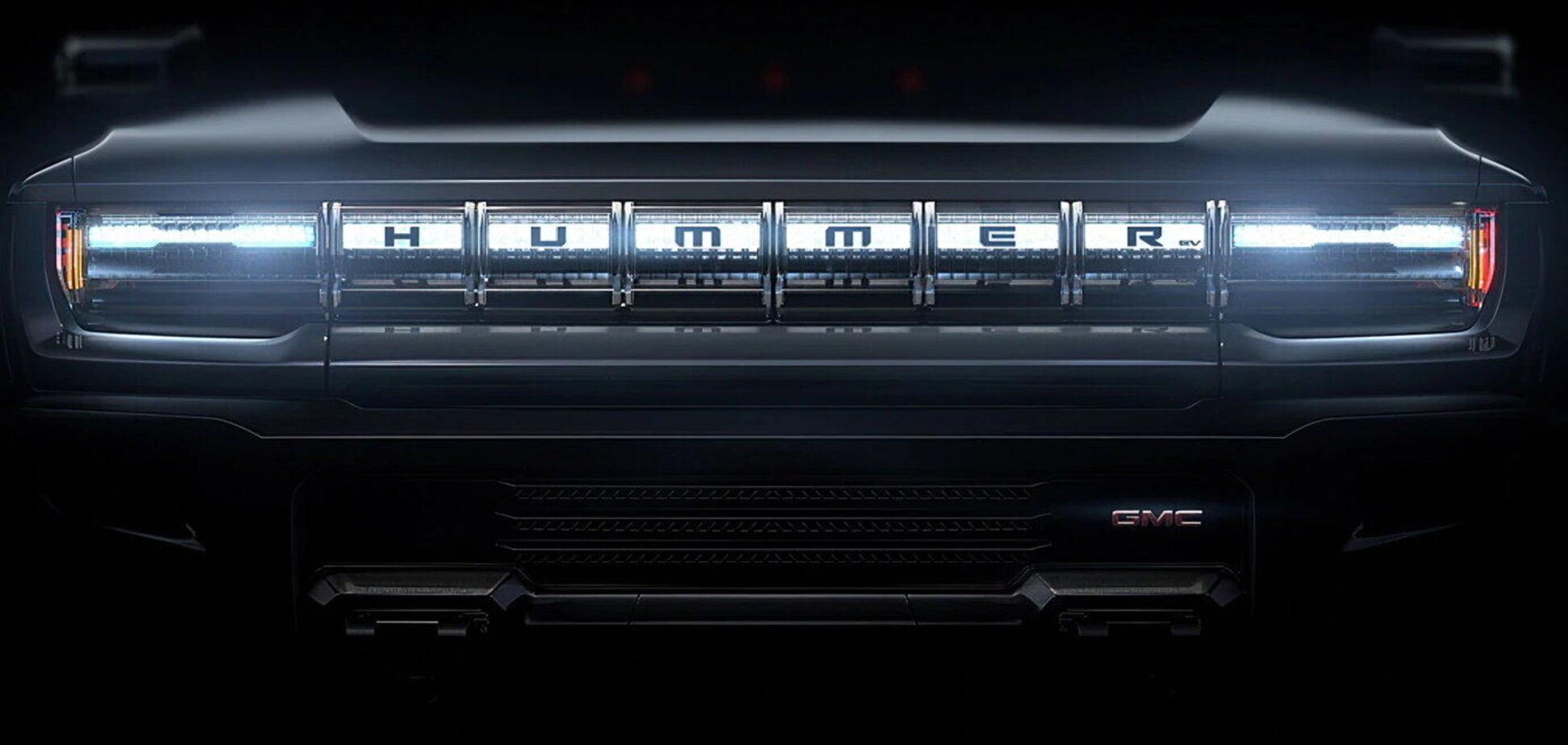 Новый электромобиль Hummer уже показали спереди. Фото: drom.ru