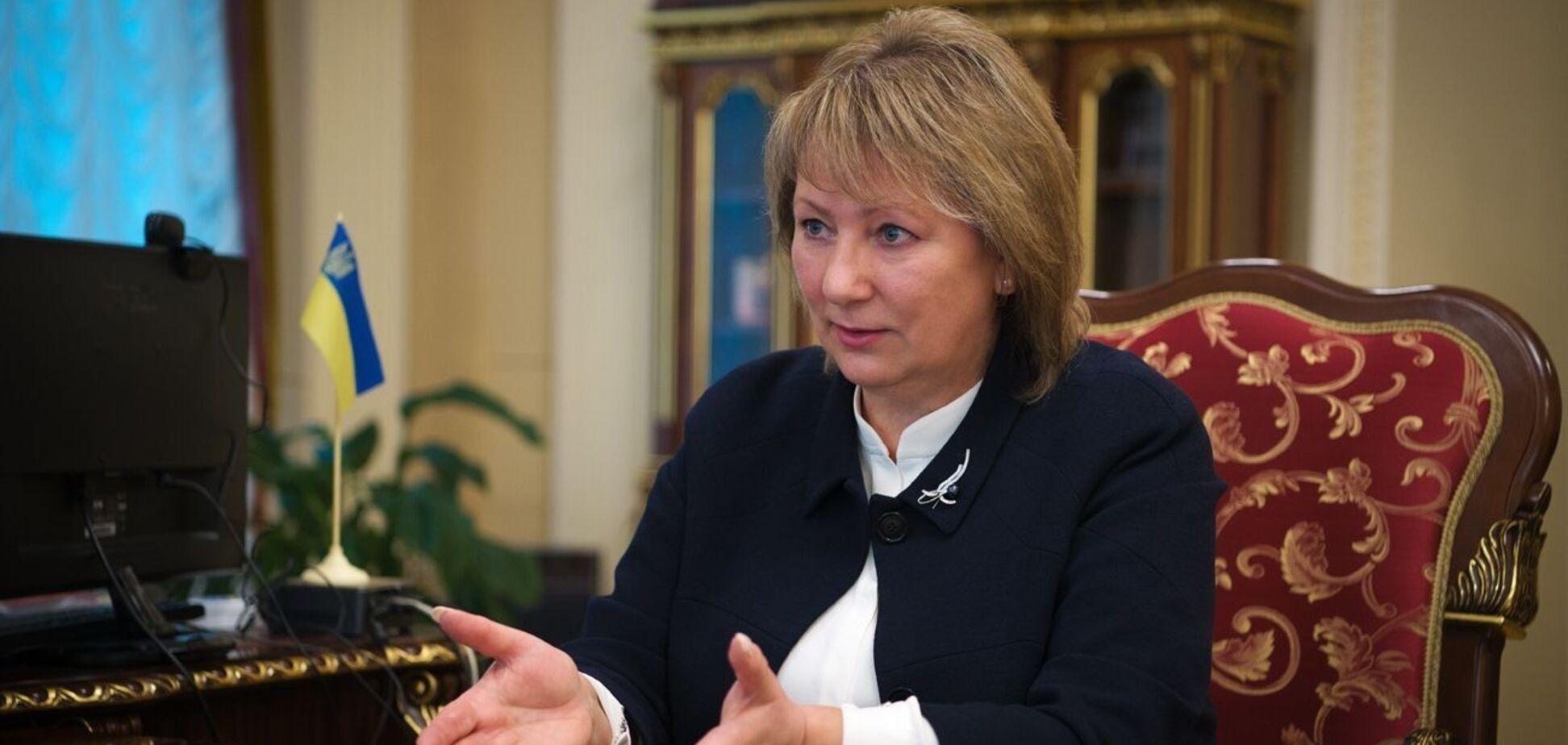 Судья Данишевская заработала 500 тысяч гривен за июль