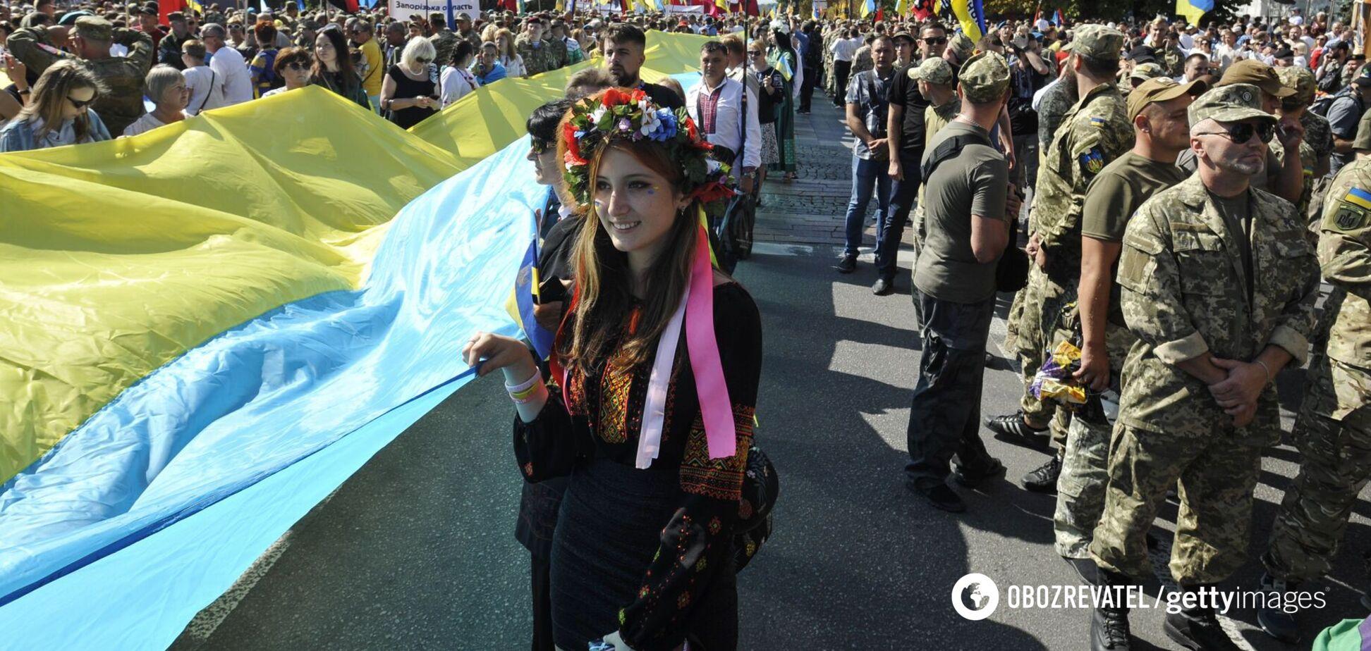 День Государственного флага Украины был установлен в 2004 году